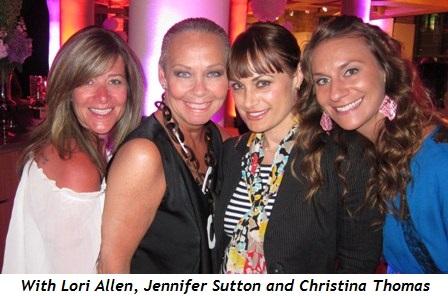 9 - With Lori Allen, Jennifer Sutton and Christina Thomas