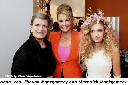 2 - Nena Ivon, Shauna Montgomery and daughter Meredith Montgomery