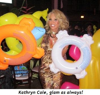 3 - Kathryn Cole, glam as always!