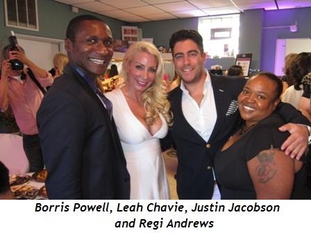 Borris Powell, Leah Chavie, Justin Jacobson and Regi Andrews