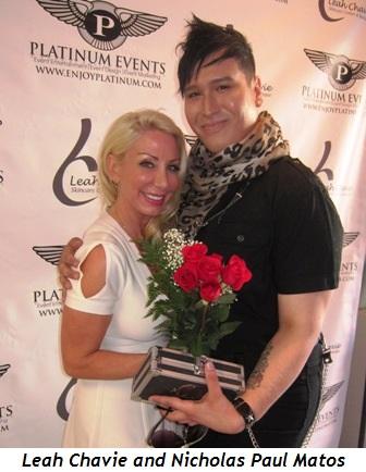 Leah Chavie and Nicholas Paul Matos