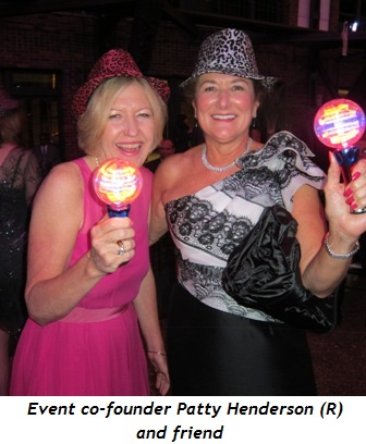Event co-founder Patty Henderson and friend