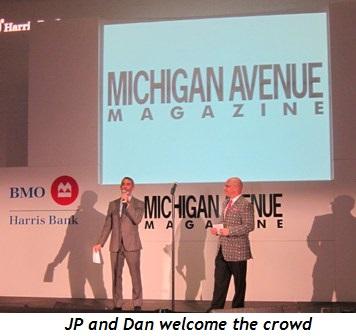2 - JP Anderson and Dan Uslan welcome the crowd
