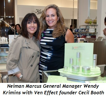 1 - Wendy Krimins, NM General Manager and Cecil Booth, founder of Ven Effect
