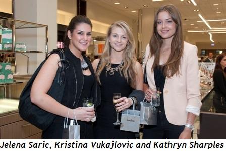 6 - Jelena Saric, Kristina Vukajlovic and Kathryn Sharples