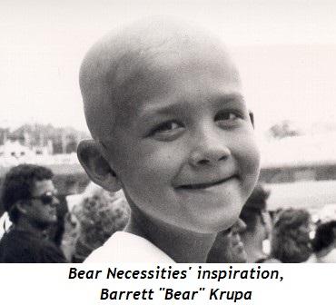 2 - Bear Necessities inspiration, Barrett Bear Krupa