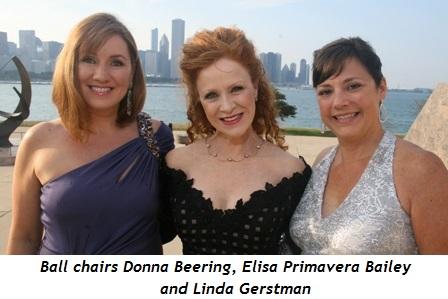 1 - Ball chairs Donna Beering, Elisa Primavera Bailey and Linda Gerstman