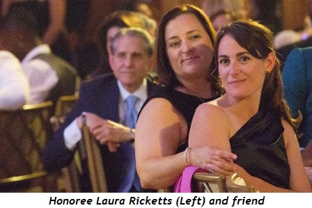 5 - Honoree Laura Ricketts (Left) and friend