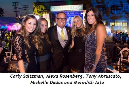 4 - Carly Saltzman, Alexa Rosenberg, Tony Abruscato, Michelle Dadas, Meredith Arlo