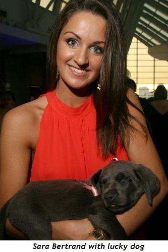 3 - Sara Bertrand with lucky dog