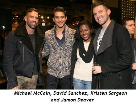 1 - Michael McCain, David Sanchez, Kristen Sargeon and Jamon Deaver