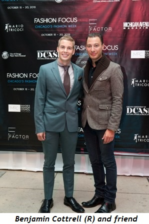 11 - Benjamin Cottrell (R) and friend