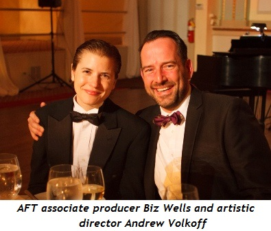 4 - AFT Associate producer Biz Wells and Artistic Director Andrew Volkoff