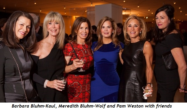6 - Barbara Bluhm-Kaul, Meredith Bluhm-Wolf and Pam Weston with friends