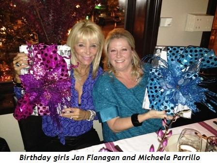 1 - Birthday girls Jan Flanagan and Michaela Parrillo