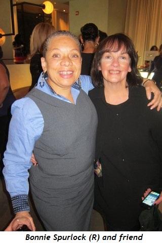 Bonnie Spurlock (R) and friend