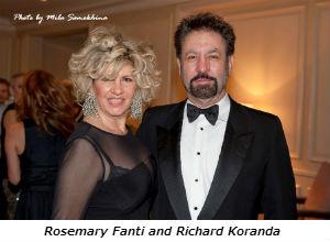 Rosemary Fanti and Richard Koranda