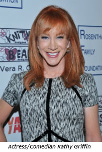 Actress_comedian Kathy Griffin