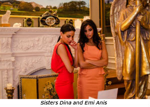 Sisters Dina and Emi Anis