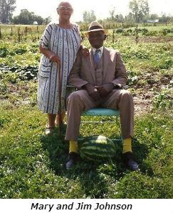 Mary and Jim Johnson