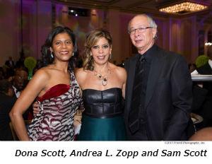 Dona Scott Andrea L Zopp and Sam Scott