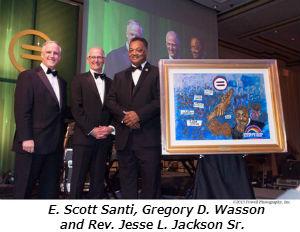 E. Scott Santi Gregory D Wasson and Rev Jesse L Jackson Sr