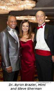Dr Byron Brazier Mimi and Steve Sherman