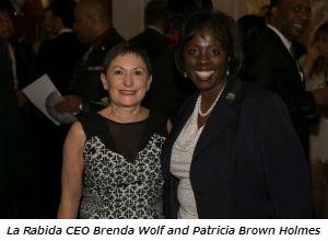 La Rabida CEO Brenda Wolf and Patricia Brown Holmes