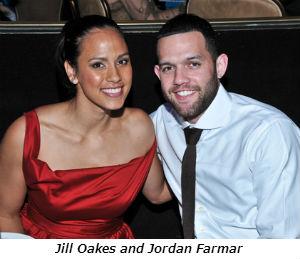 Jill Oakes and Jordan Farmar