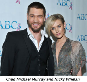 Chad Michael Murray and Nicky Whelan