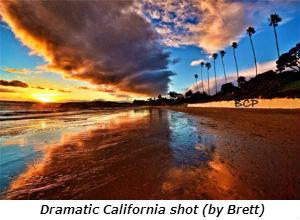 Dramatic California shot by Brett
