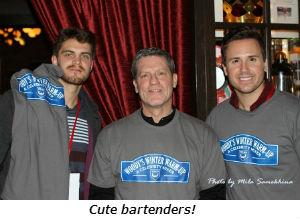 Cute bartenders