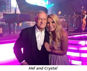 Hef and Crystal