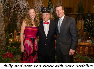 Philip and Kate van Vlack with Dave Rodelius