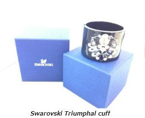 Swarovski Triumphal cuff