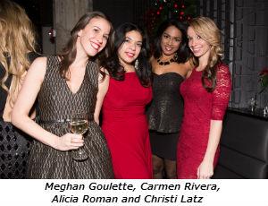 Meghan Goulette Carmen Rivera Alicia Roman Christi Latz