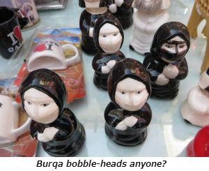 Burqa bobble-heads anyone