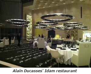 Alain Ducasses Idam restaurant