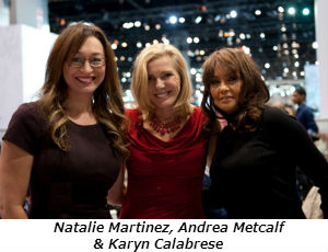 Natalie Martinez Andrea Metcalf and Karyn Calabrese