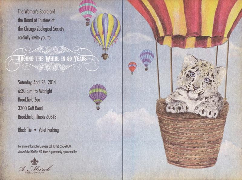 Brookfield Zoo invite