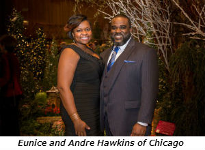 Eunice and Andre Hawkins of Chicago