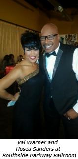 Val Warner and Hosea Sanders at Southside Parkway Ballroom