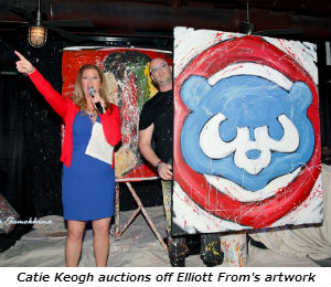 Catie Keogh auctions off Elliott From's artwork