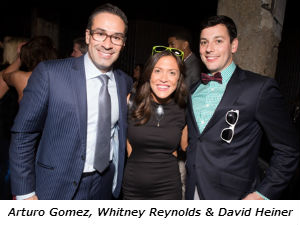 Arturo Gomez Whitney Reynolds and David Heiner