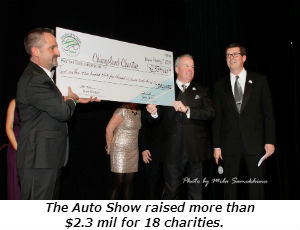The Auto Show raised more than 2 mil for 18 charities