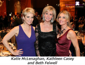 Katie McLenaghan Kathleen Casey and Beth Feiwell