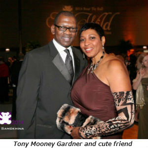 Tony Mooney Gardner and cute friend