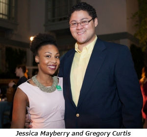 Jessica Mayberry and Gregory Curtis