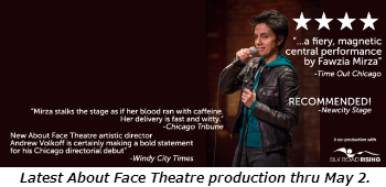 Latest About Face Theatre production thru May 2