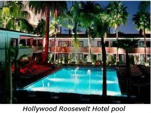 Hollywood Roosevelt Hotel pool